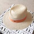 Summer fashion m wide brim sunbonnet luxury strawhat beach cap female hat sunscreen jazz hat
