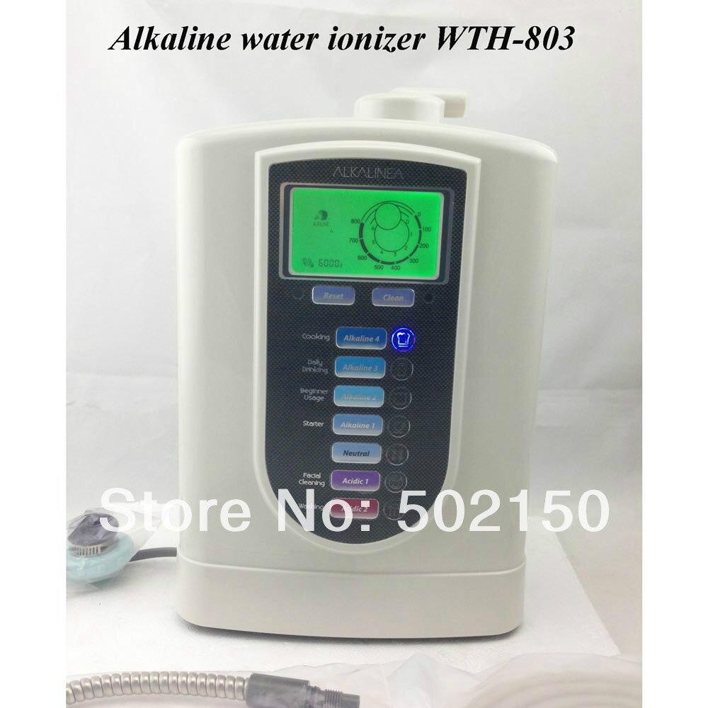 Бесплатная доставка в Великобритании ионизированной воды машина WTH 803 сделать воду быть более щелочной