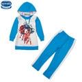 Nova niños ropa establece niñas juegos de otoño/sistemas de la ropa niñas de la moda abrigo de invierno establece alta venta trajes de bebé novatx juegos de las muchachas