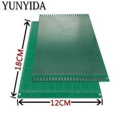 98-22 1 шт. 12x18 см Односторонний Прототип PCB универсальная печатная плата