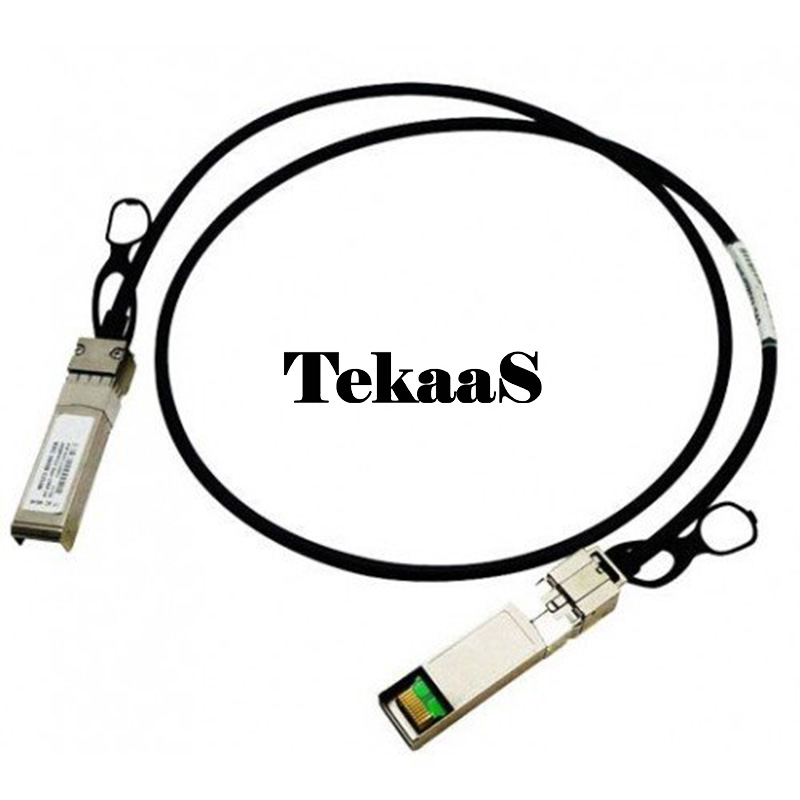 TekaaS QSFP-H40G-CU3M Cisco Compatible 40GBASE-CR4 Passive Copper Cable, 3m (NEW F/S) tekaas transceiver compatible for cisco xfp10glr 192sr l low power multirate xfp supporting 10gbase lr and oc 192 sr