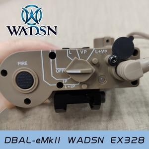 Image 5 - WADSN טקטי אור 14DBAL IR אדום לייזר Airsoft ציד מנורת DBAL EMKII פנס DBAL D2 14DBAL נשק אקדח אור