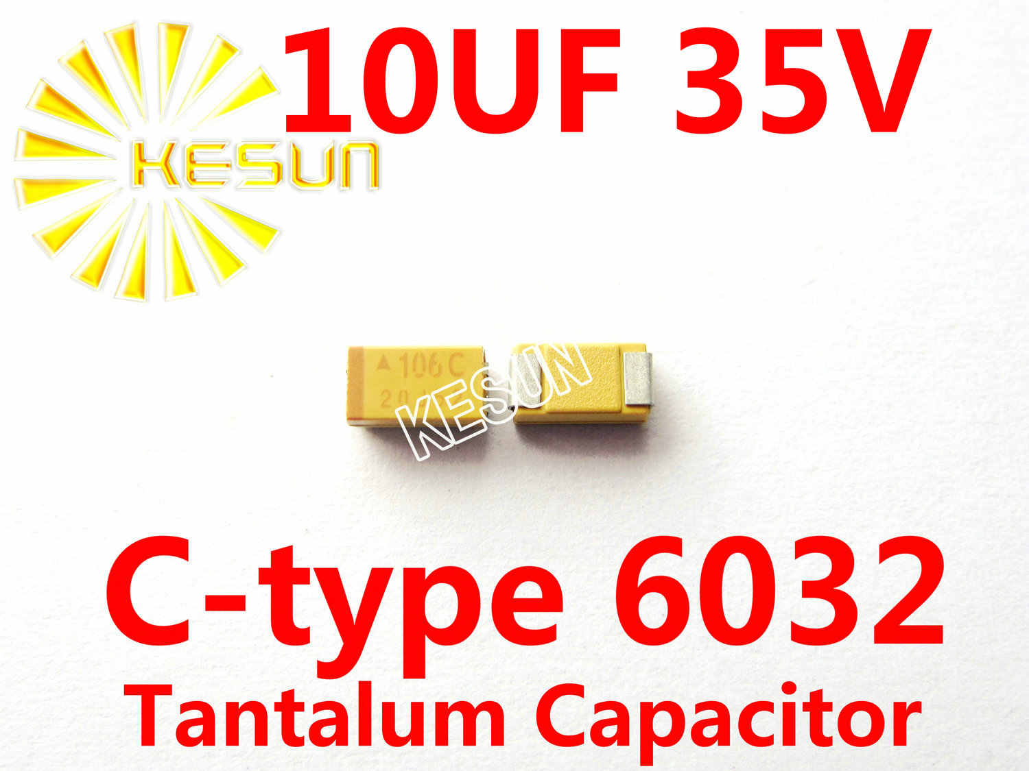 m2055 10 Pieces ELECTROLYTIC CAPACITORS 33 μF//16 V SMD