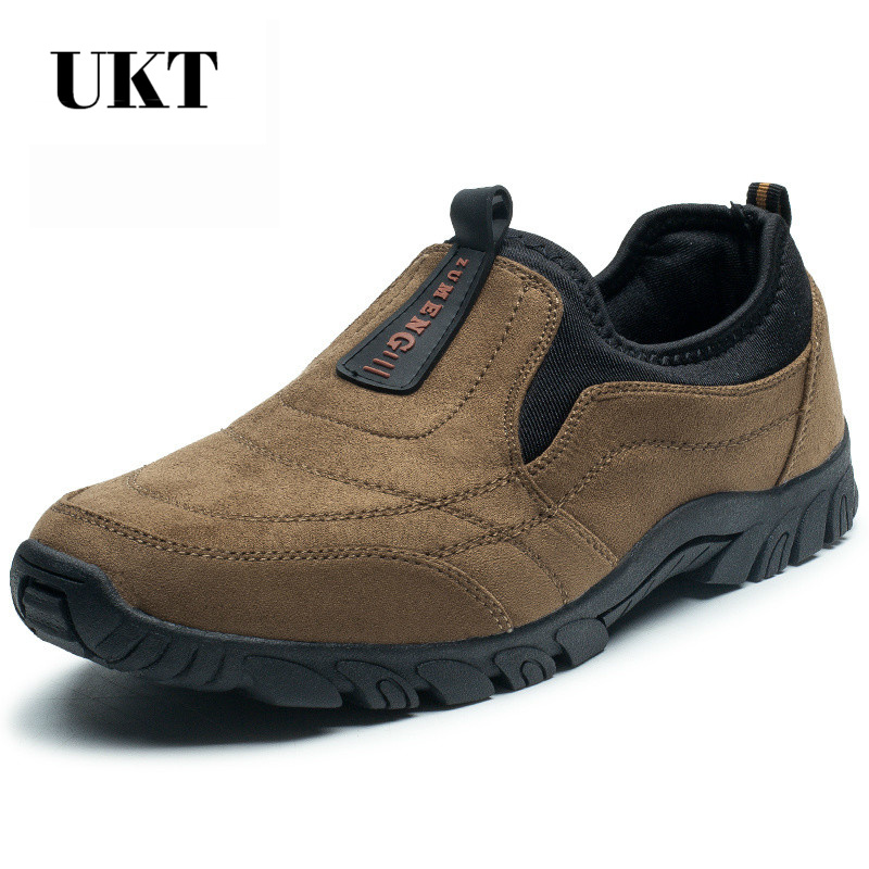 sale hiking shoes sneakers slip-on outdoor camping 2017 trek sport men climbing outventure sapatos masculino medium(b,m)