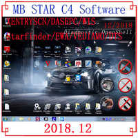 Quality mb star C4/C5 2019.07 newest full software with 320Gb HDD/SSD 07/2019V Xentry/DTS/Vediamo MB SD Connect 4 Tool software
