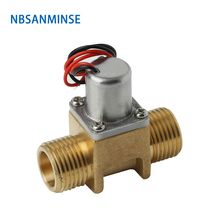 цена на NBSANMINSE SM211 Pulse Solenoid Valve DC3.6V 6.5V Bistable Solenoid Valve For Induction sanitary ware bathroom faucet