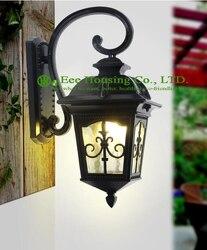 Moderne deco kunst wand lampenindustrie vintage pendelleuchte schwarz/weiß beleuchtung
