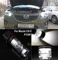 2x Для Mazda CX-5 2013-2014 P13W 15 Шт. SHARP чипы 75 Вт Высокой Мощности СВЕТОДИОДНЫЕ Лампы Туман СВЕТОДИОДНЫЕ Фары Дневного света