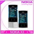 Телефон Nokia x3, x3 мобильный сотовый Bluetooth 3.2 mp mp3-плеер X3-00 слайдер мобильный телефон разблокированный
