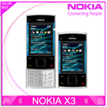 Teléfono Nokia x3, x3 celular móvil Bluetooth 3.2MP reproductor de MP3 X3-00 teléfono móvil Slider desbloqueado