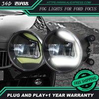 Per Ford Focus 2004-2014 LR2 Car styling paraurti anteriore fendinebbia LED ad alta luminosità fendinebbia 1 set
