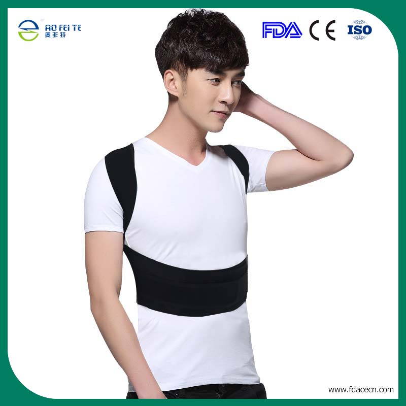 Orthopedic Posture Corrector for Child Men Women Lumbar Support Back Brace Shoulder Correction Elastic Belt Health Care AFT-B003