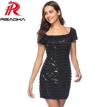 09c6b6258c9b6 Black Sequin Party Dress Promotion-Shop for Promotional Black Sequin ...