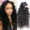 Malaysian Virgin Hair Water Wave 3 Bundles Malaysian Curly Hair Water Wave Virgin Hair Ali Moda Vip Beauty Human Hair Extensions