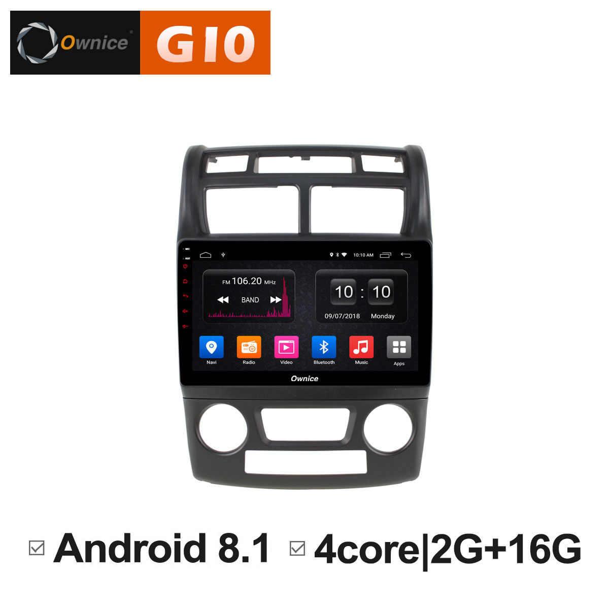 Ownice C500 + G10 Octa 8 core autoradio Stereo voor KIA Sportage 2007 2008-2010 android 8.1 auto dvd gps speler 4G SIM Carplay