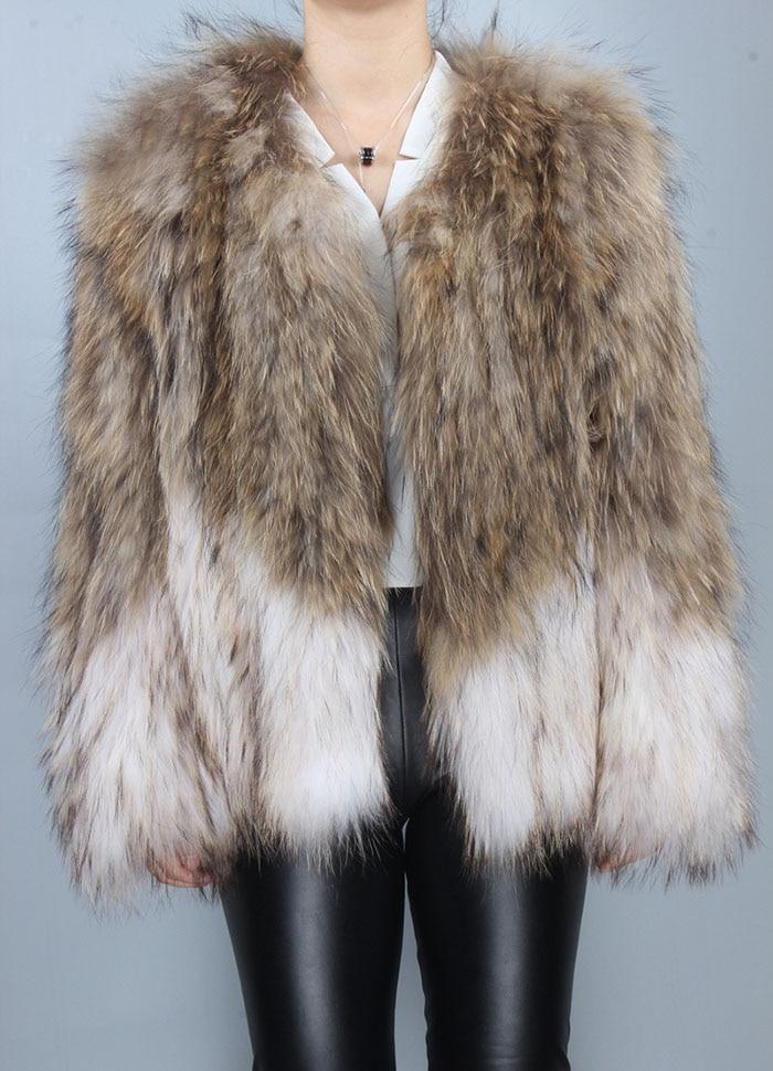 Raton Veste Tricoté Femmes Manches Hiver Avec Laveur Réel Décontracté Manteau De Fourrure Rrj0001 Tricot En Mode 7C7YcUq