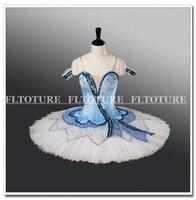 Ballet Tutu Dress For Girls Blue Bird Clothes Professional Ballet Nutcracker Dance Costumes For Ballet Performance
