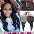 7A Brazilian Loose Wave Silk base Closure,Free/3 Part Cheap Silk Base Closure Brazilian Hair,4x4 Hidden Knots Silk Lace Closure