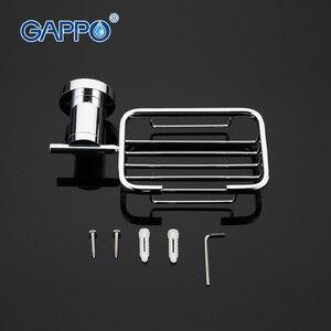 Image 4 - GAPPO 1เซ็ตที่มีคุณภาพสูงผนังmoutห้องน้ำจานสบู่สแตนเลสห้องน้ำสบู่ตะกร้ากล่องสบู่ที่วางจานGA1802 1
