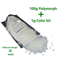 100g Moldable Plastic Instamorph Polycaprolactone PCL Plastimake Polymorph Thermoplastic Polyester For Hobbyist Mould