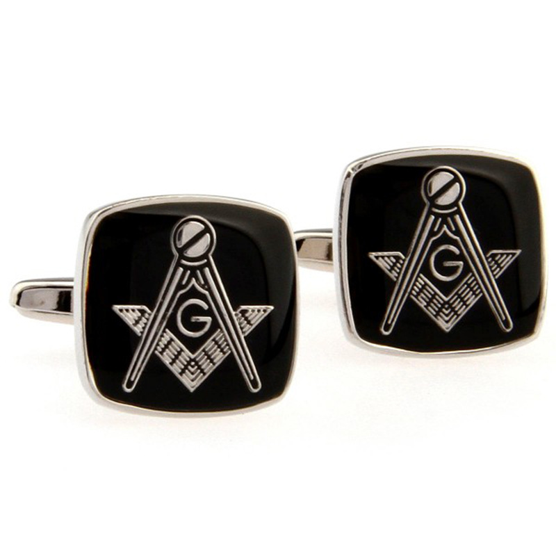 New arrival of masonic masonic cufflinks European style wedding enamel brand cufflinks wholesale best gift for mens ...