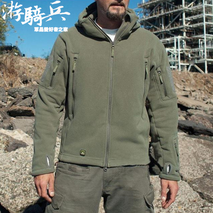 Фото TAD soft Fleece Polartec Military Jacket Thermal Breathable Lightweight hiking Sports tactical Fleece Jacket. Купить в РФ