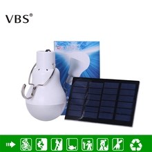 Powerful 130LM Solar Lamp Long Life Rechargeable Led Light Bulb Led Lighting outdoor lighting Reading Night Fishing Garden Light cheap Solar Bulb IP44 None Emergency Solar Powered Portable Led Bulb Lithium Battery LED Bulbs 2 years ROHS Novelty Equivalent to 15w incandescent lamp