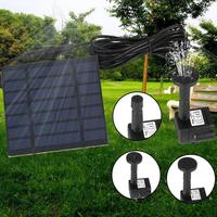 6V Solar Panel Power Water Pump For Fountain Pool Pond Garden Plants Aquarium