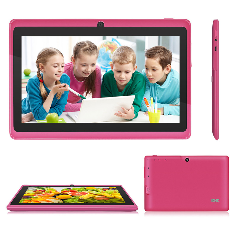 2019 New 7 Inch Kids Tablet PC Android Tablet Quad Core 8GB  Screen for Children Education Games Birthday Gift