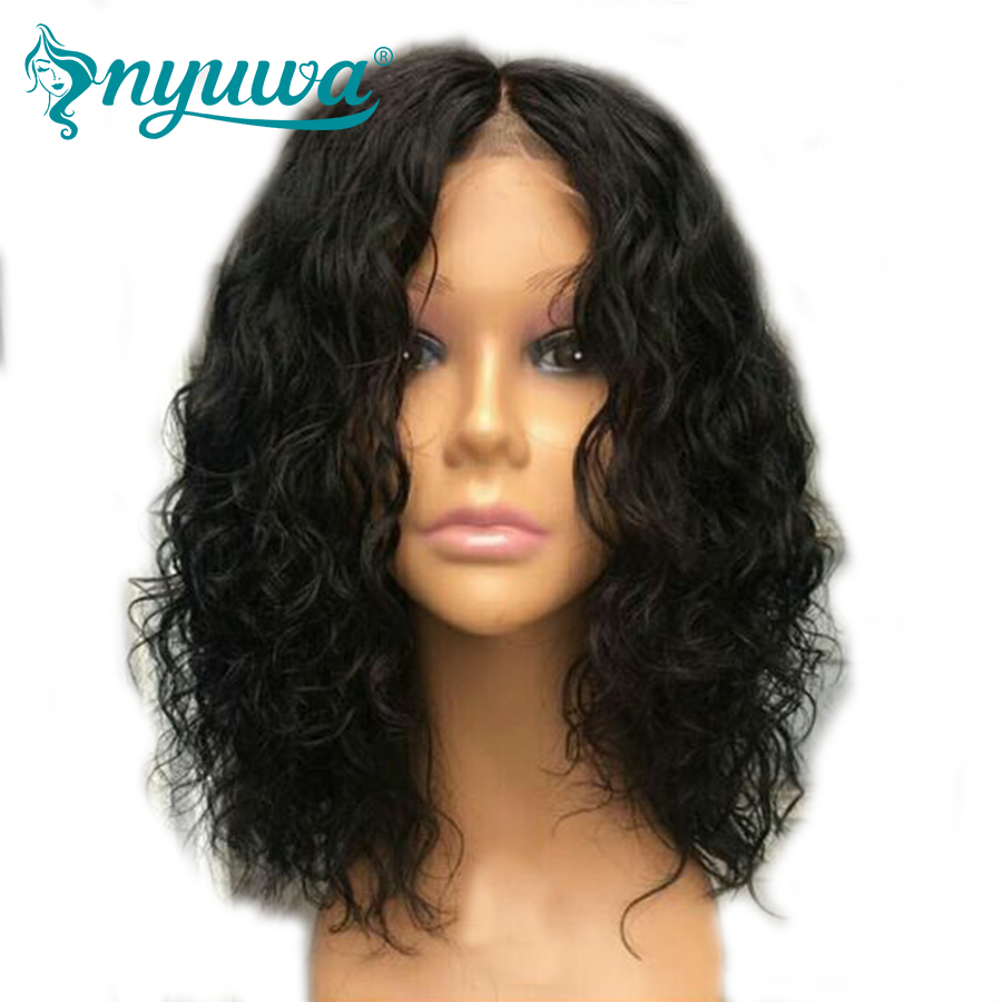 Lace Wigs Vanlov Bob Wig Short Lace Front Human Hair Wigs Brazilian Remy Hair Wig For Women Pre Plucked Glueless Bob Wig 150% Full Natural Soft And Light Human Hair Lace Wigs