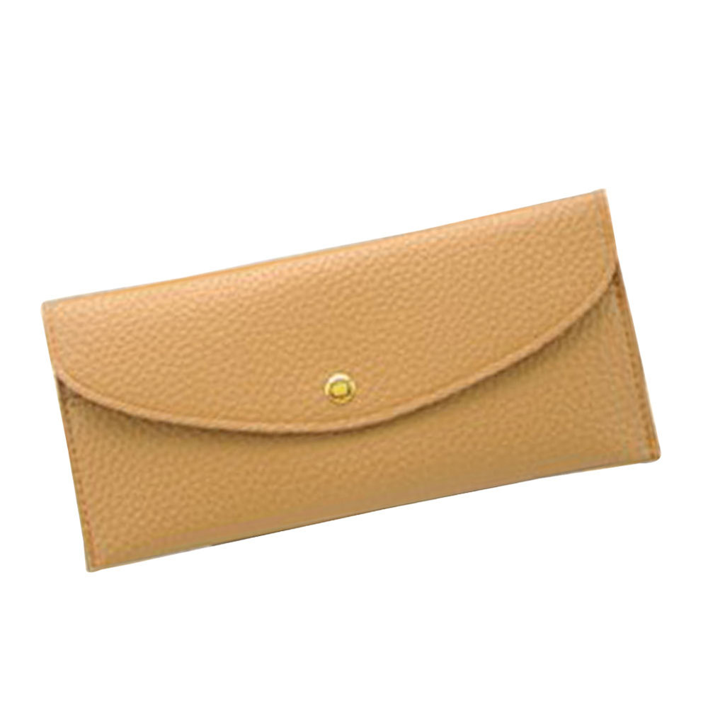 New Arrivals Women Wallet Soft Leather Leisure Woman Purse Clutch Wallets Cards Holder Lady Coin Purses Money Bag Clips Borsa