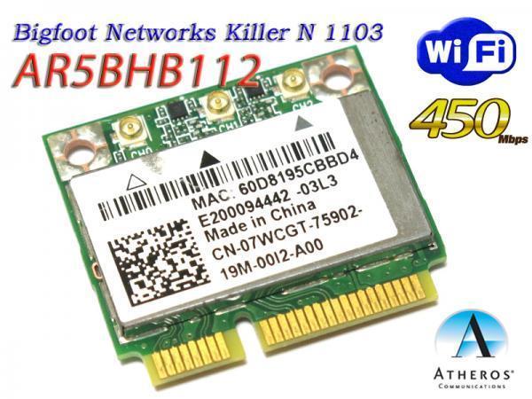 BIGFOOT NETWORKS KILLER WIRELESS-N 1103 DRIVERS DOWNLOAD FREE
