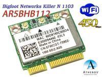 Dual Band Bigfoot networks Killer 1103 7WCGT AR5BHB112 450mpbs WIFI CARD for Dell Alienware M14X M18X M14XR2 L322X 2720