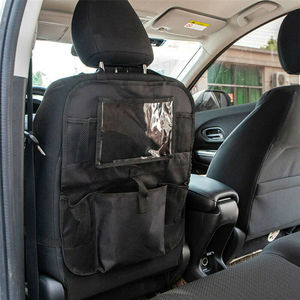 Image 3 - Auto Car Back Seat Hanging Bag Travel Storage Holder Organizer For Tablet Ipad Interior Stowing Tidying Bags Waterproof