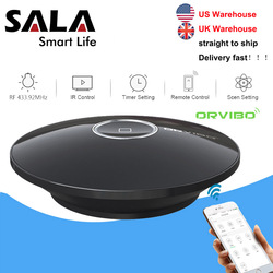 Orvibo Socket Allone Pro Universal Smart Home Automation Remote Control Wifi IR RF Controller Hub for Alexa google Assistant