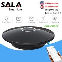 Orviboซ็อกเก็ตAllone Pro Universal Smart Home AutomationรีโมทคอนโทรลWifi IR RF Controller HubสำหรับAlexa Google Assistant