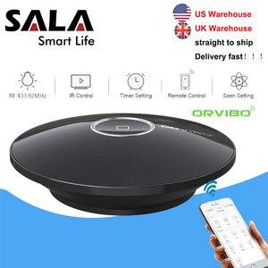Image 1 - Orvibo Socket Allone Pro universel intelligent domotique télécommande Wifi IR RF contrôleur Hub pour Alexa google Assistant