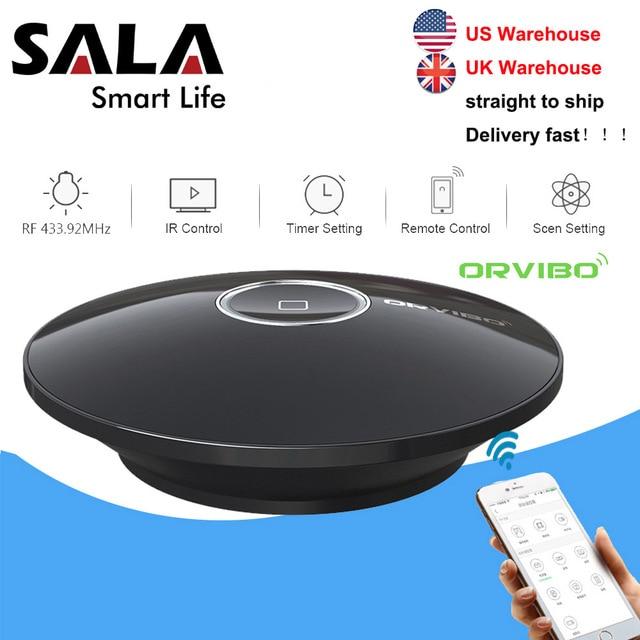 Orvibo Socket Allone Pro universel intelligent domotique télécommande Wifi IR RF contrôleur Hub pour Alexa google Assistant
