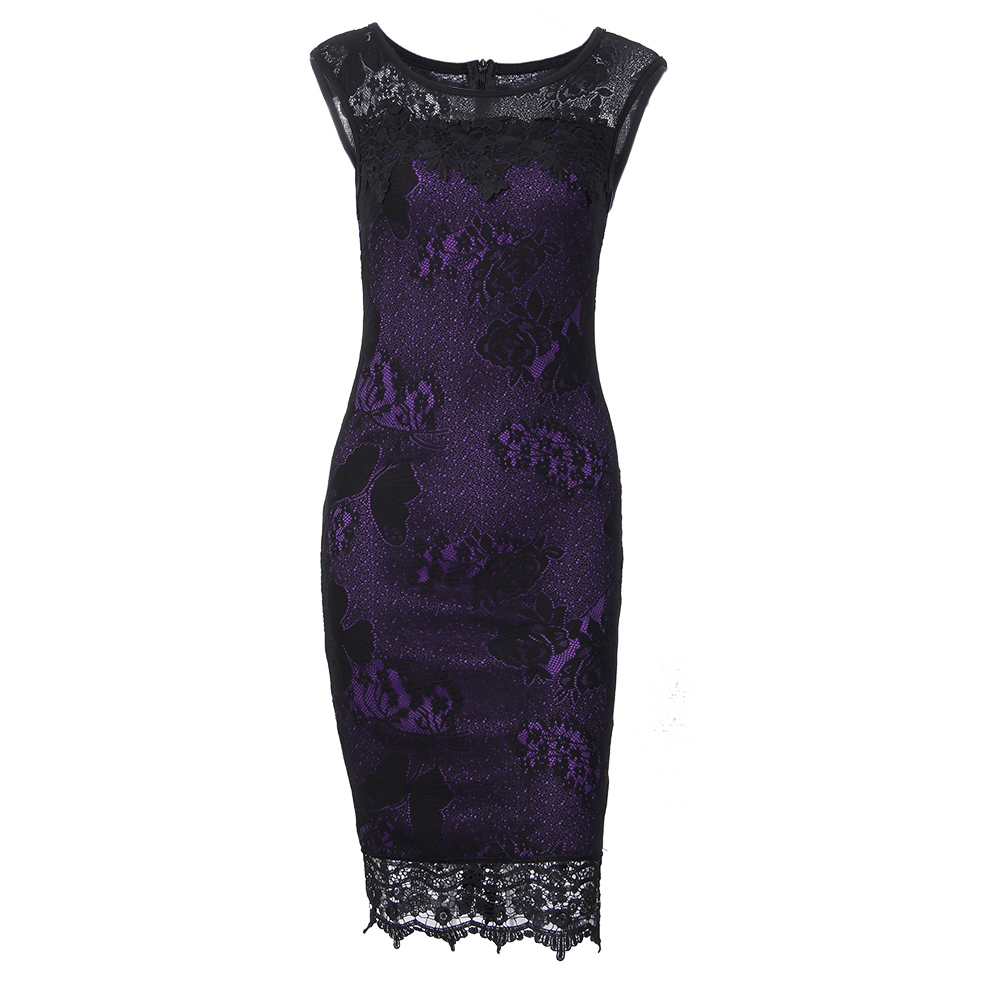 Kenancy 5XL Plus Size Women Pencil Dress Summer Fashion Exquisite Sequins  Crochet Butterfly Lace Party Bodycon Dress-in Dresses from Women s Clothing  on ... e83389183aed
