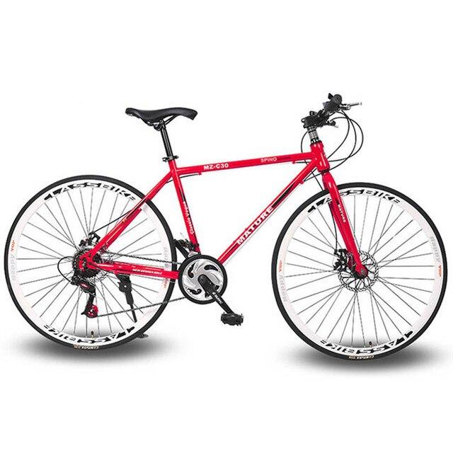24c544e7061 28 Inch 21 Speed Bike Frame Rode Bike Bicycle 21 Speed Disc Brakes Tall Man  MTB