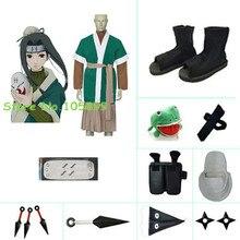 Хаку Ха Косплэй костюм набор из Наруто