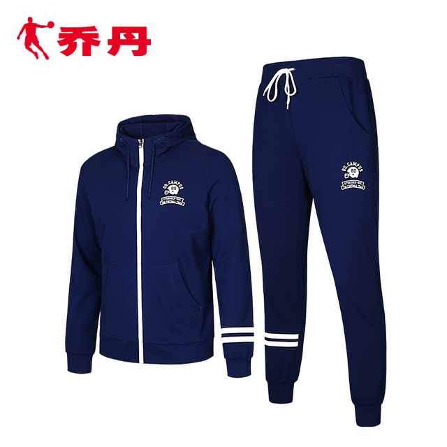 e1d3c11b8a7 china jordan qiaodan 2pcs/lots Sport Suit Pants Jackets Sport Wear Women  Running Clothes For Men Sport Set Fitness Gym Couples
