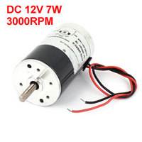 UXCELL Hot Sale 1 Pcs DC 12V 7W 3000RPM Brushed Motor Replacement 38mm Diameter 65mm Height