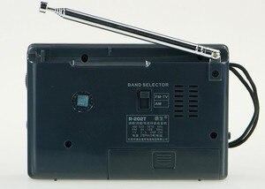 Image 3 - Top Quality TECSUN R 202T radio Pocket AM FM TV Audio Radio black Portable Free Shipping