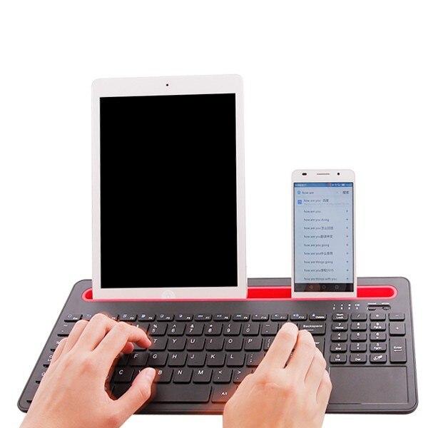 Forme el teclado de Bluetooth del panel táctil para la PC de la - Accesorios para tablets