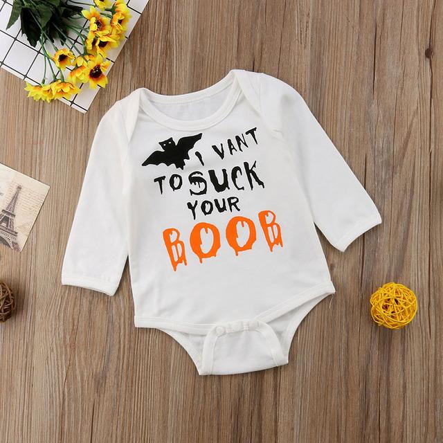 Newborn Baby Halloween Bodysuit