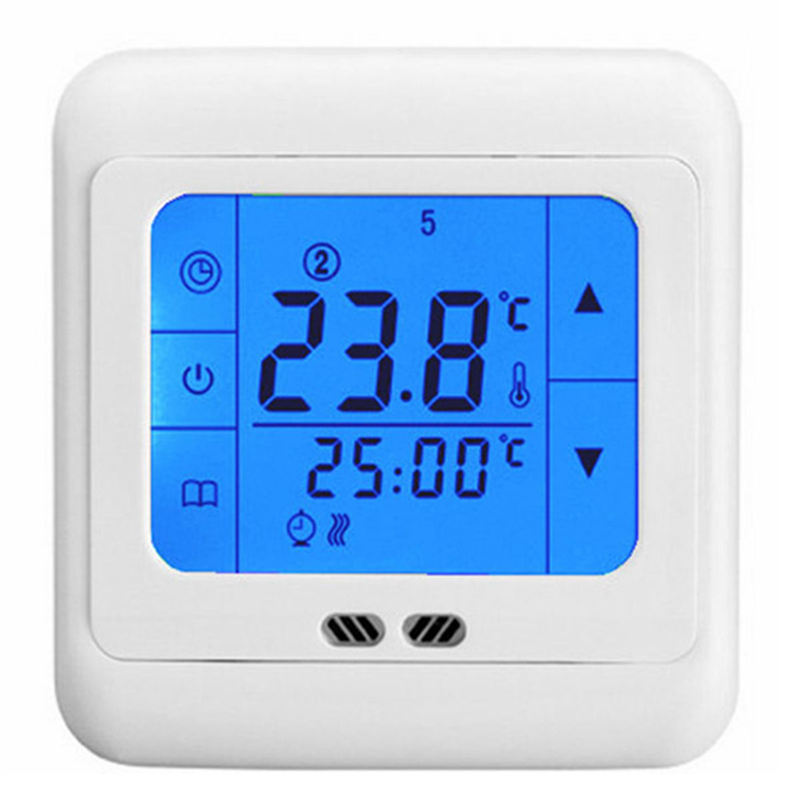 New Electric Unit High quality LCD <font><b>Heating</b></font> Thermostat Room Controller Backlit Digital Programmable Underfloor <font><b>Blu-ray</b></font>