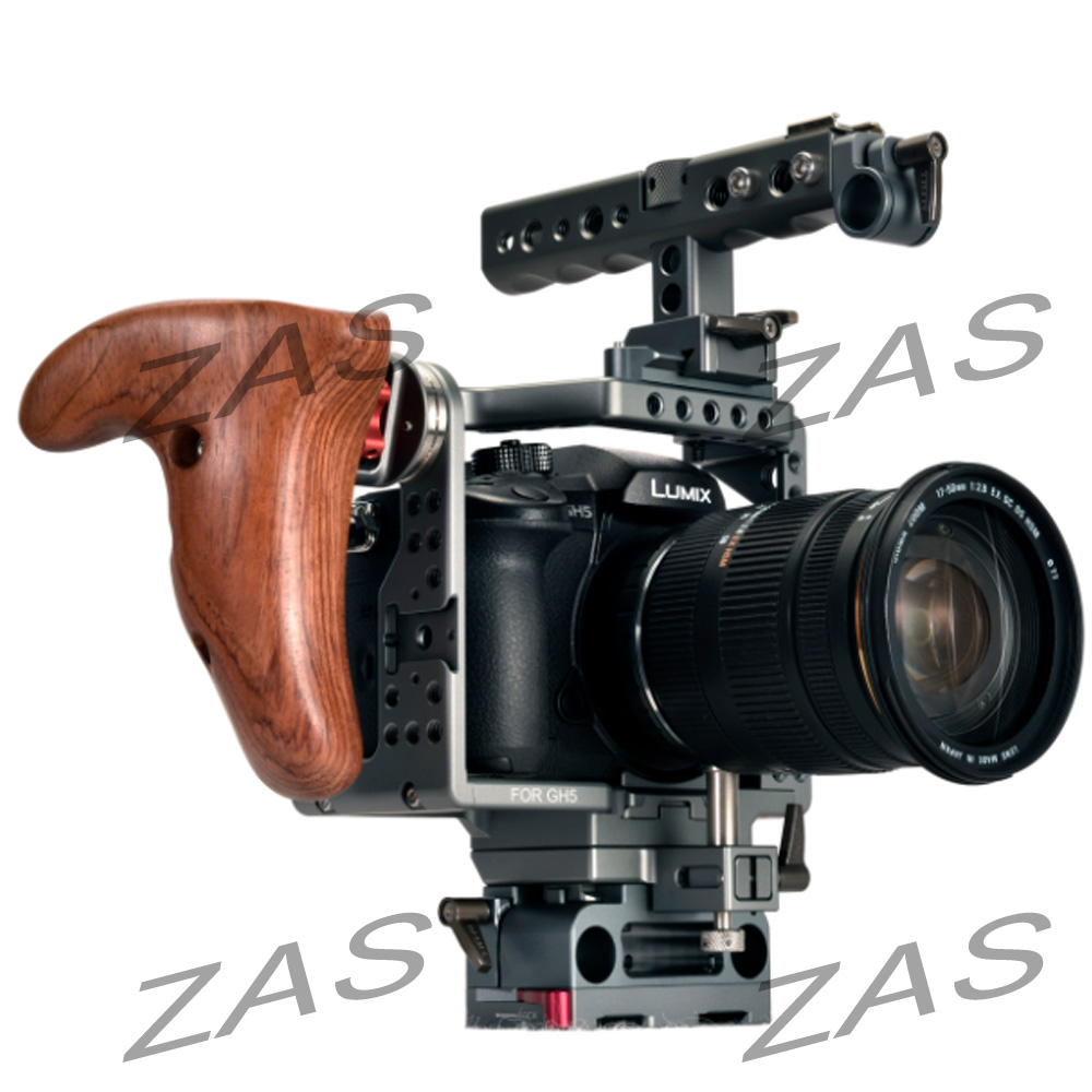 TILTA ES-T37A/ES-T37 New handle Panasonic GH4/GH5 Camera Lightweight rig Cage supports 15mm rod Free shipping