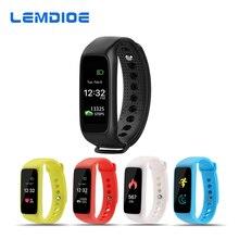 Lemdioe полный Цвет TFT-LCD Экран L30t Bluetooth Smart Band Поддержка монитор сердечного ритма фитнес-трекер для iOS телефонов Android