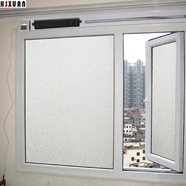 waterdichte decoratie raam privacy film 60x100 cm badkamer deur pvc opaque zelfklevende raamstickers hsxuan merk 600320